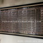 Kaligrafi Tembaga ( asmaul husna )