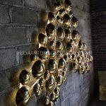 Pengrajin Hiasan Dinding Kuningan Tembaga