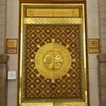 Replika pintu nabawi kuningan