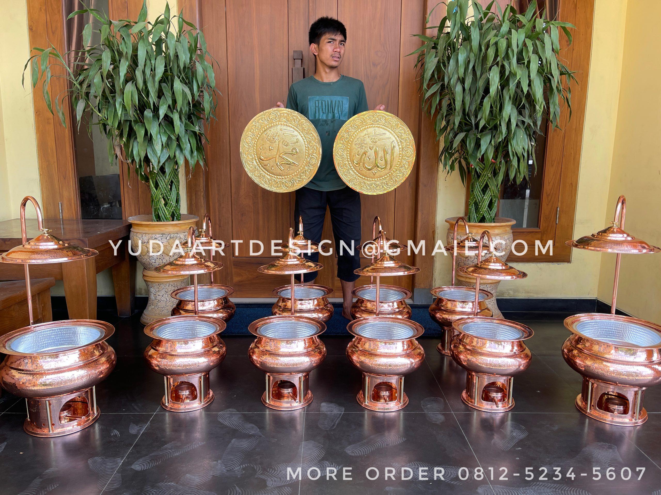 Pemanas Makanan Catering Tembaga by Rujab butur catering