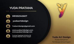 Kartu Nama Yuda Art Design