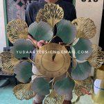 Kerajinan Wall Decor Kuningan - Model Jam Dinding Hias Kuningan