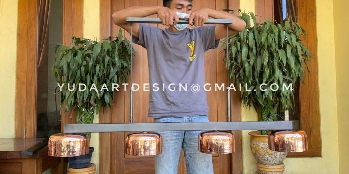 Lampu Gantung Cafe Custom Tembaga