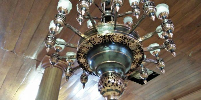 Lampu Robyong Tembaga ( Lampu Joglo Custom Tembaga )