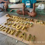 Huruf Balok Kuningan Custom - Pengadilan Negeri Teluk Kuantan
