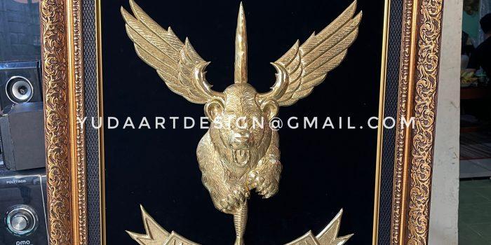 Kerajinan Logo Kuningan Custom